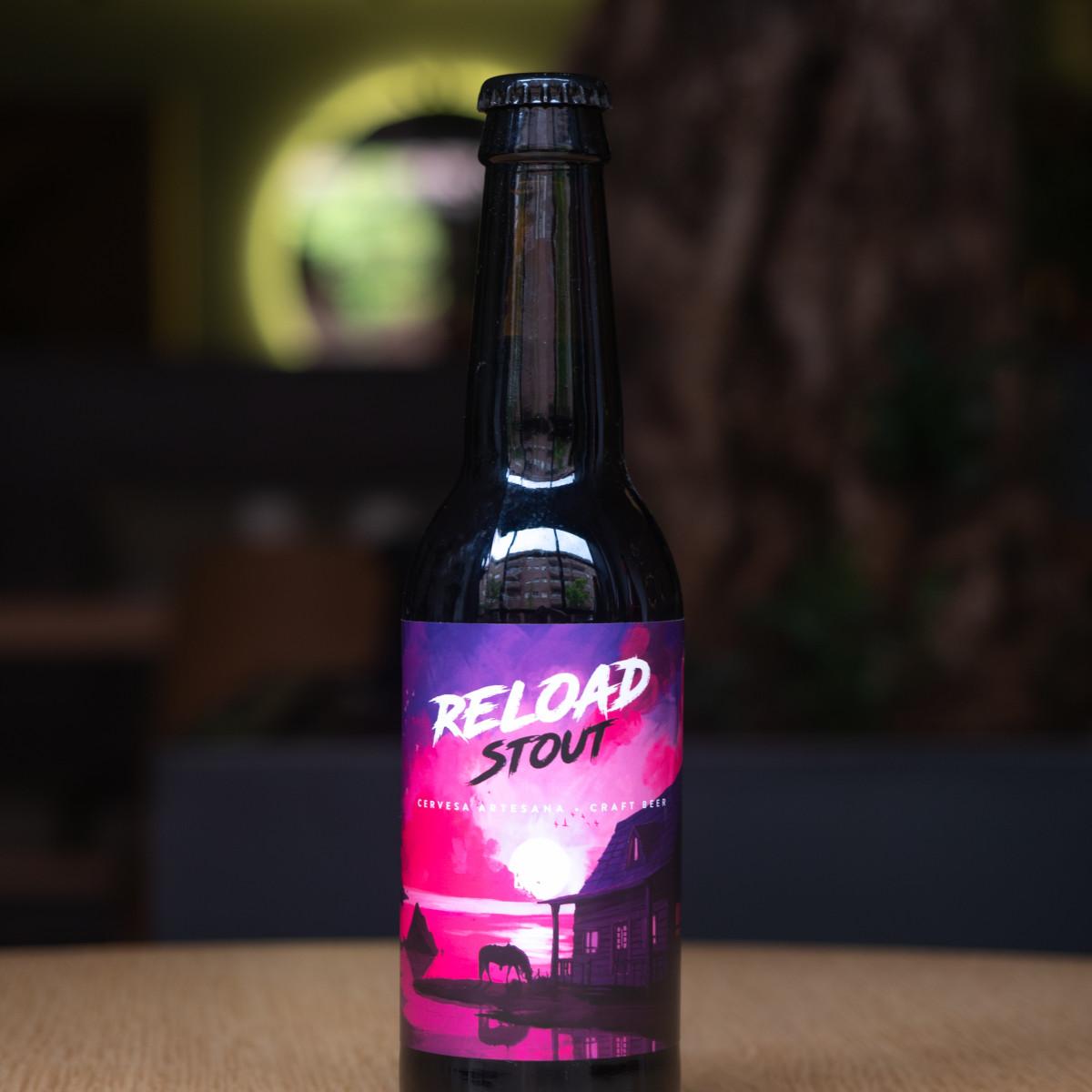 Reload L'Oriental: Stout, 5,5% Alc.